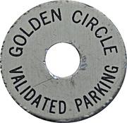 Parking Token - Golden Circle – obverse
