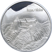 Medallion - Castles of Graubünden (Razen/Räzüns) – obverse