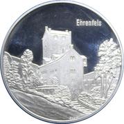 Medallion - Castles of Graubünden (Ehrenfels) – obverse