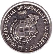 Token - RFEF Medallas de la Seleccion (Canizares) – reverse