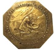 Medal - California Gold Discovery Centennial (Miner Kneeling) – obverse