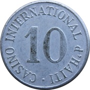 Token - Casino International d'Haiti (Port Au Prince) – obverse