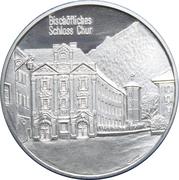 Medallion - Castles of Graubünden (Bischöflisches Chur) – obverse