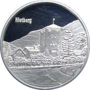 Medallion - Castles of Graubünden (Rietberg) – obverse