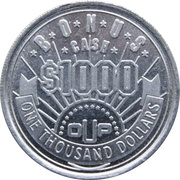 Token - Bonus Cash $1000 – obverse