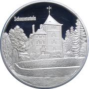Medallion - Castles of Graubünden (Schauenstein in Fürstenau) – obverse