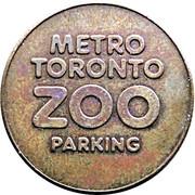 Parking Token - Metro Toronto Zoo – obverse