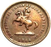 Civil War Token (Andrew Jackson) – reverse
