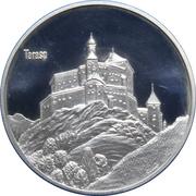 Medallion - Castles of Graubünden (Tarasp) – obverse