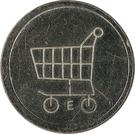 Shopping Cart Token - E – obverse