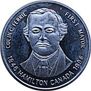 1 ½ Dollars - Hamilton, Ontario (Dundurn Castle) – obverse