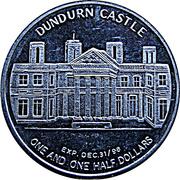 1 ½ Dollars - Hamilton, Ontario (Dundurn Castle) – reverse