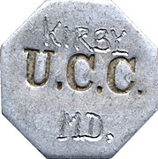 Token - Kirby UTT Canning Co. – obverse