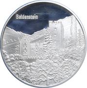Medallion - Castles of Graubünden (Baldenstein) – obverse