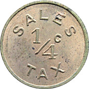 ¼ Cent - Sales Tax Token (Roanoke) – obverse