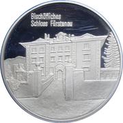 Medallion - Castles of Graubünden (Bischöfliches in Fürstenau) – obverse