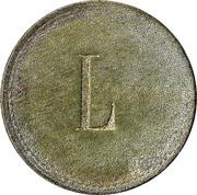 """30 Pfennig (Werth-Marke; Countermarked """"L"""") – reverse"""