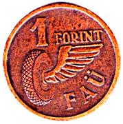 1 Forint - FAU – reverse