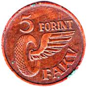 5 Forint - FAKV – reverse