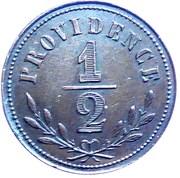 ½ Franc - Forges de la Providence – reverse