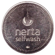 Car Wash Token - Nerta (28.2 mm; Lobnya) – obverse