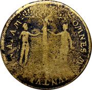 Counter Token (Crucifixion; Nuremberg) – reverse