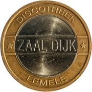 Token - Zaal Dijk (Lemele) – reverse