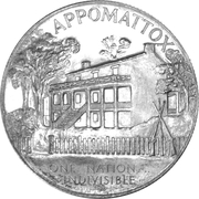 So-Called Half Dollar - Appomattox Centennial – obverse