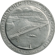 Token - Thatcher Ferry Bridge – obverse