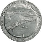 Token - Thatcher Ferry Bridge – obverse