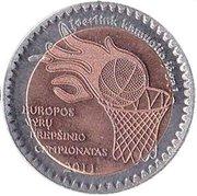 Token - Panevėžys (EuroBasket 2011) – obverse