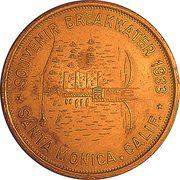 So-Called Dollar - Santa Monica Breakwater – obverse