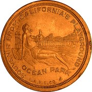 So-Called Dollar - Santa Monica Breakwater – reverse