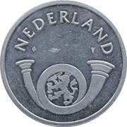 Token - PTT Post Nederland (1 Gulden) – obverse