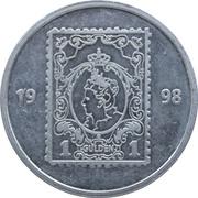 Token - PTT Post Nederland (1 Gulden) – reverse