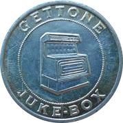 Jukebox Token - Gettone Apparecchi Elettrici (Parco Giochi, Primiero) – reverse