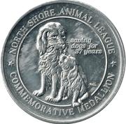 Medallion - North Shore Animal League – obverse