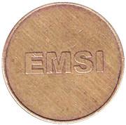 Car Wash Token - EMSI – reverse