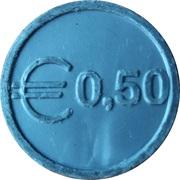 0.5 Euro - Zwolle – reverse