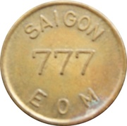 Token - 777 (EOM; Saigon, Vietnam) – reverse