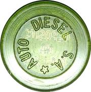 Token - Auto Diesel S.A. (round; with star) – obverse