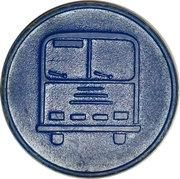 Bus Token - A – obverse