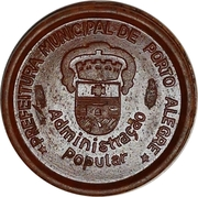 Token - Porto Alegre (student pass) – obverse