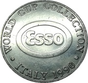 Esso Token - 1990 Scotland World Cup Collection (Jim Leighton) – reverse