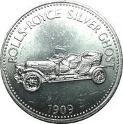 Token - Shell (Rolls-Royce Silver Ghost 1909) – obverse