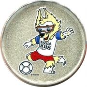 Token - 2018 FIFA World Cup (Mascot - Zabivaka) – obverse