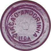 Token - Viação Andorinha Ltda (round; LTDA with  long base) – obverse