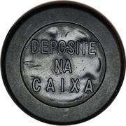 Token - Viação N. S. da Penha Ltda (round; with point) – reverse