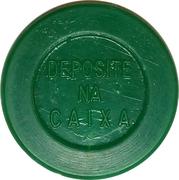 """Token - Viação Novacap S.A. (round; with final point in """"S.A."""") – reverse"""