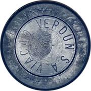 Token - Viação Verdun S.A. (round; fine letter) – obverse
